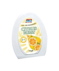 Cleanline Air Freshener Gel Citrus 190G Case of 12 1
