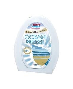 Cleanline Air Freshener Gel Ocean Breeze 190G Case of 12 1