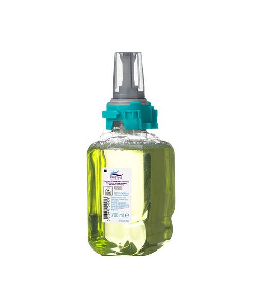 Pristine Foam Hand/Shower Wash Lemonberry 700ML Case of 4 1