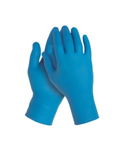 38520 Kleenguard G10 Nitrile Glove Blue Medium PK100Case of 10 1