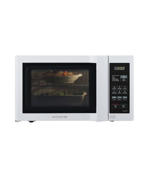 Daewoo 800w Duo Plate Touch Control Microwave Oven   DCS Store ...