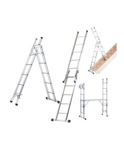 Werner 5 Way Combination Ladder With Platform 1