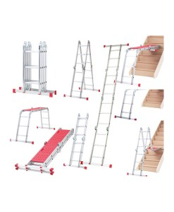 Werner 12 Way Multi-Purpose Ladder With Platform 1
