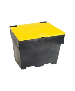 6 Cu Ft Stackable Recycled Grit/Salt Bins 1