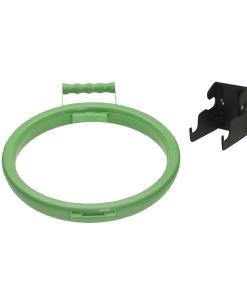 Bag Hoop & Wall Bracket Set Green 1