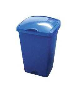 Addis Lift Top Bin Blue 48L  1
