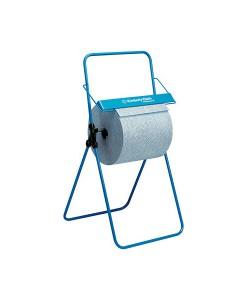 6154 Floor Stand Wiper Roll Dispenser Blue 96x51