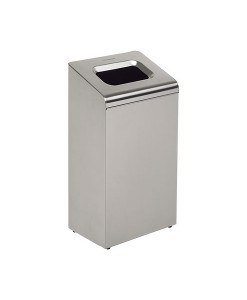 8975 Stainless Steel Waste Bin 65x35x24CM  1