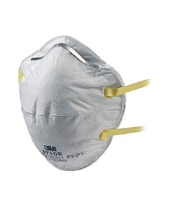 3M 8710E Cup Shaped Dust / Mist Respirator Pack of 20  1