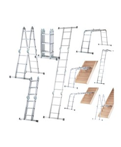 Werner 10 Way Multi-Purpose Ladder 1