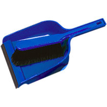 Dustpan & Brush Set Soft - Blue