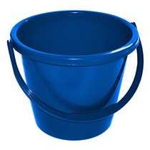 CleanWorks Plastic Bucket Blue