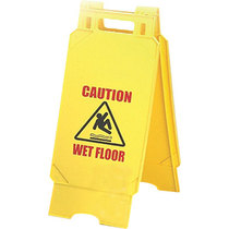 CleanWorks Caution Sign Plastic 'A'