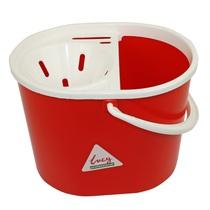 Oval Mop Bucket Red