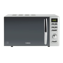 800W Duo Plate Touch Control Microwave Oven
