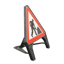 Q Sign Dia 7001 (564) Road Works