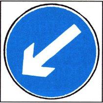 Q Sign Dia 610 Reversible Arrow