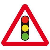 Dia 543 Traffic Signals Ahead