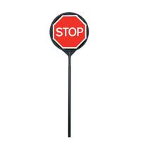 Plastic Stop/Go Pole