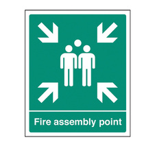 Fire Assembly Point Safety Sign