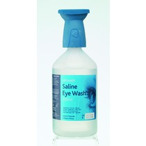 Reliwash Saline Eye Wash Bottle with Eyewash Bath Lid
