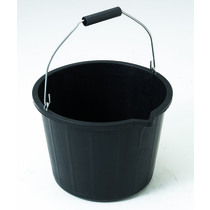 Industrial Plastic Bucket - Black