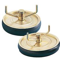 "Pressed Steel 4"" Drain Plug 13mm (1/2"") Outlets"