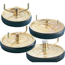 """Pressed Steel 18"""" Drain Plugs 25mm (1"""") Outlets"""