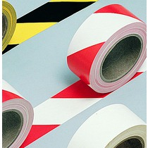 Spartan Hazard Warning Tape - Red/White