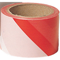 Guard Zebra Tape - Red/White