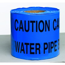 Caution Water Pipe Underground Tape