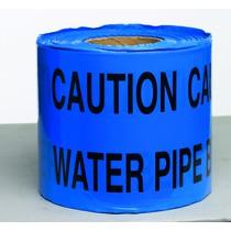 Caution Water Pipe Underground Tape