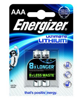 Battery Energizer Lithium Type AAA (PK 4)