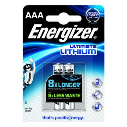 Battery Energizer Lithium Type AAA (PK 4)