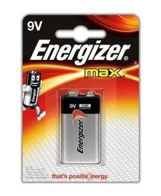 Battery Energizer max 9V (EA)