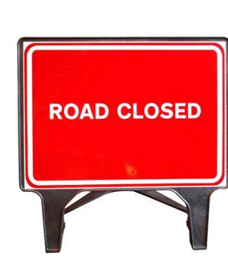 Q Sign Road Closed Dia 7010 Sign Plastic