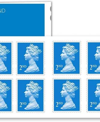 12 X 2nd Class Stamps