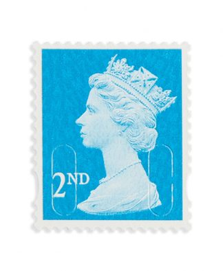 25 X 2nd Class Stamps