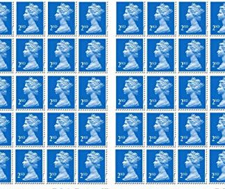 50 X 2nd Class Stamps