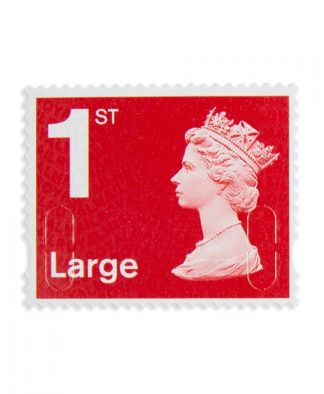 15 X 1st Class Large Stamps