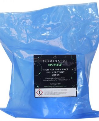 ELIMINATOR HIGH PERFORMANCE DISINFECTANT WIPES - 1000 REFILL